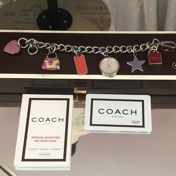 Coach Accessories Vintage Charm Bracelet Watch Poshmark